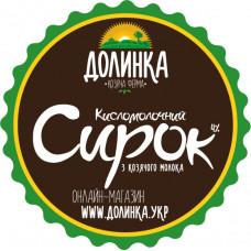 """Творог кисломолочный """"Долинка"""", 350г"""
